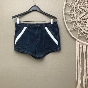 FREE PEOPLE 'Sweet Surrender' High Rise Shorts 28